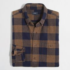 Plaid rugged elbow-patch shirt : Rugged Elbow Patch | J.Crew Factory