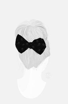 Hair Bun by Valencia Pierre, via Behance