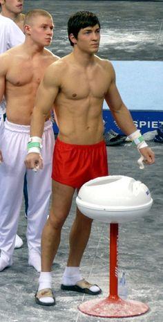German men, Mens gymnastics and Gymnastics on Pinterest
