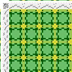 draft image: Figurierte Muster Pl. XLIII Nr. 2, Die färbige Gewebemusterung, Franz Donat, 8S, 8T