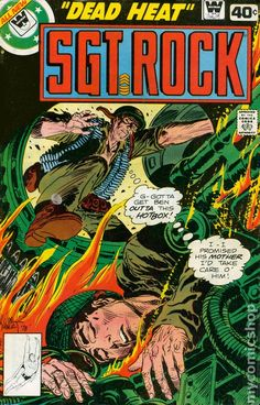 sargent rock comic books | Sgt. Rock (1977) Whitman comic books
