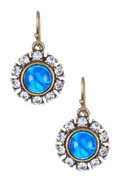 Swarovski Maharaji Circular Drop Earrings