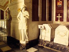 The Crypt of the El Escorial Monastery contains the tombs