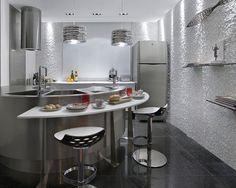 Cozinha Americana Simples – Fotos
