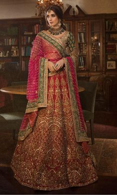 30 Exciting Indian Wedding Dresses That You'll Love ❤ indian wedding dresses lehenga red sequins panachehautecouture dresses indian bridal 30 Exciting Indian Wedding Dresses That You'll Love Wedding Lehnga, Indian Bridal Lehenga, Indian Bridal Outfits, Indian Bridal Wear, Pakistani Bridal Dresses, Indian Wedding Sarees, Latest Bridal Lehenga, Indian Saris, Indian Wedding Bride