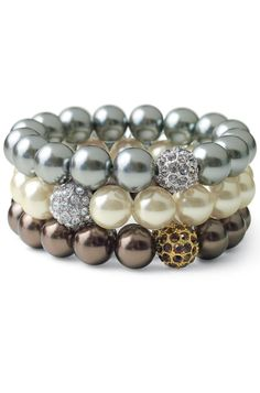 stella and dot- Love these Masie pearl bracelets. I bought one for every woman in my fam