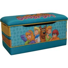 Warner Bros. Scooby Doo Paws Deluxe Toy Box