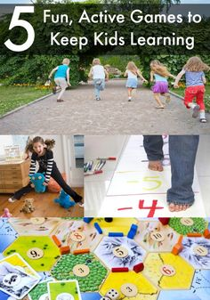 5 Fun, Active Games to Keep Kids Learning - Learning Liftoff Learning Games, Kids Learning, Creative Teaching, Play To Learn, Summer Fun, Summer Slide, Stories For Kids, Fun Activities, Homeschool