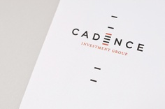 Cadence Investment Group by YIU Studio , via Behance