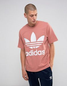 the best attitude fab71 6c73f adidas Originals Boxy T-Shirt In Pink