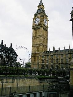 Big Ben in London; London was fun, but not as much as the rest of Europe