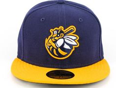 NEW ERA x MiLB「Burlington Bees」59Fifty Fitted Baseball Cap Fitted Baseball  Caps, d4ea2596f6a0