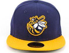 NEW ERA x MiLB「Burlington Bees」59Fifty Fitted Baseball Cap