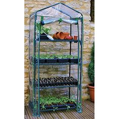 "Gardman R687 4-Tier Mini Greenhouse, 27"" Long x 18"" Wide ... https://www.amazon.com/dp/B000NCTGQE/ref=cm_sw_r_pi_dp_x_mhpUxbY6EJJKC"