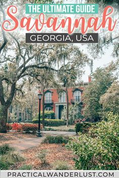 In this Savannah travel guide you'll find all the best Savannah Georgia things to do. Here's where to eat where to drink and where to meet ghosts in Savannah GA. Usa Travel Guide, Travel Advice, Travel Usa, Travel Guides, Travel Tips, Travel Info, Travel Goals, Us Travel Destinations, Places To Travel