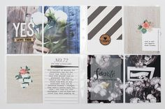 Project Life by Vanessa Project Life Planner, Project Life 6x8, Elf Yourself, Gossamer Blue, Pocket Scrapbooking, Scrapbooking Ideas, Life Page, Life Journal, Graphic Design Layouts