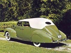1938 Lincoln Zephyr Convertible Sedan