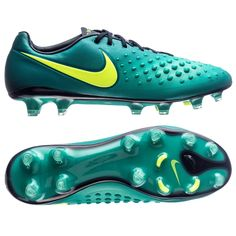 newest a987a d4184 Nike Magista Opus II FG Soccer Cleats (Rio Teal Volt Obsidian Clear Jade)    Nike Soccer Cleats   SOCCERCORNER.COM