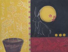 """Spring Planting"" acrylic 18x24"