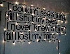 This wall quote is so cute and I am so having it in my new bedroom