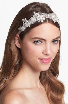 Untamed Petals by Amanda Judge 'Dawson' Beaded Head Wrap | Nordstrom