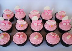 Looking for baby shower cupcakes? Browse collection video and gallery picture of baby shower cupcakes for girls and get inspiration. Baby Shower Cupcakes For Girls, Baby Cupcake, Girl Baby Shower Decorations, Cupcake Cakes, Cupcake Ideas, Cup Cakes, Baby Shower Cakes Pictures, Amazing Baby Shower Cakes, Cake Pictures