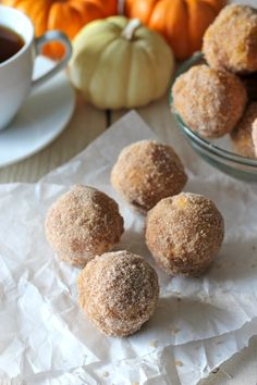 Recipe from the archives: Pumpkin Donut Holes - Damn Delicious