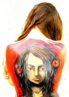 Body Painting by @Tamar Almog Halachmi