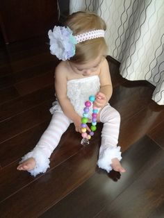 Leg Warmers and HeadbandPetti Baby Leg by AvryCoutureCreations, $17.00