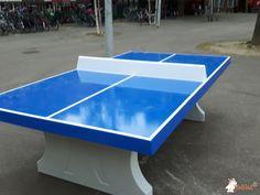 Pingpongtafel Blauw bij Vlakbij school in Amsterdam