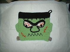 Free Crochet Potholder Pattern.