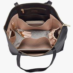 Classic leather zipper tote: same original design, but with a new beautiful zipper. Our much-requested leather zipper tote bag is durable and sized just right for work or a weekend getaway. Tote Handbags, Purses And Handbags, Leather Handbags, Luxury Handbags, Cheap Handbags, Leather Totes, Leather Work Bag, Leather Purses, Luxury Purses