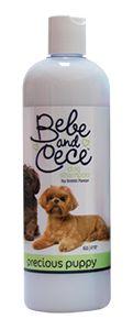 Bebe and Cece dog shampoo by Bobbi Panter Precious Puppy