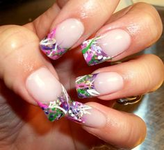 Click on image for more cute nail designs