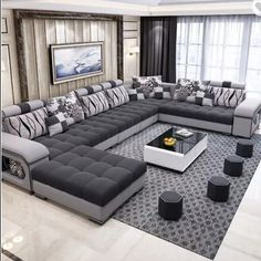 WE love sectional furniture especially sofas. They are so versatile and fun.l...and if they have inside storage space that makes them simply the best  Do you like them? DM!
