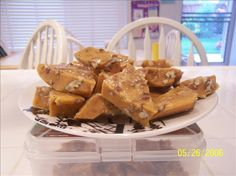 Marshmallow Pecan Brittle