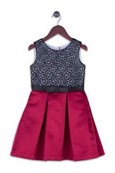 Joe-Ella Lara Lace & Satin Dress (Little Girls & Big Girls)