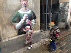 Картины перенесенные на улицу Julien de Casabianca   Блог fkmrf123   КОНТ
