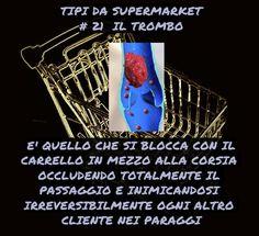 Supermarket's things: Spesso non si accorgono di nulla...