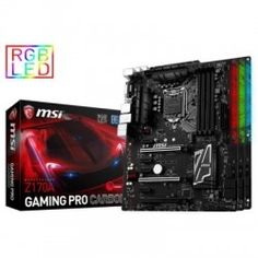 MSI Placa Base Z170A Gaming Pro Carbon ATX LGA1151