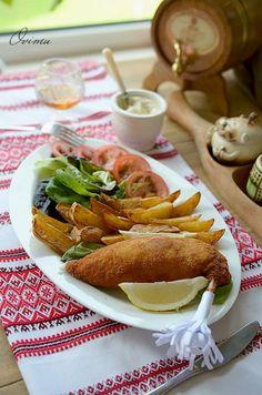 Украинская кухня. Котлета по-киевски.