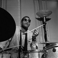 "atane: ""Born on this day: Max Roach Photo by Francis Wolff """