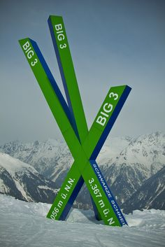 signs Inthe  Alps - SkyscraperCity. works great, sign looks like skis
