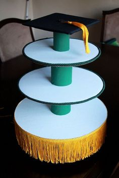 Simple Bliss: Graduation Cupcake Stand