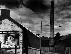 "'Lewis Merthyr Colliery, Trehafod', from The Valleys Project, 1985 (c) David Bailey. David's work will be showcased in ""The Valleys Re-Presented"" exhibition at Tramshed, Cardiff as part of Diffusion 2013. (1 May - 31 May)."