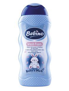 Spumant de baie pentru copii Bebino - 300 ml - Genereaza spuma bogata. Nu cauzeaza iritatia ochilor. Gold Man, Thing 1, Baby Oil, Mtv, Cleaning Supplies, Shampoo, Presentation, Fragrance, Personal Care