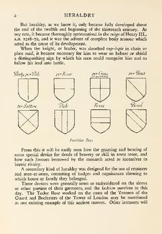 """""""Heraldry and floral forms as used in decoration"""" by Herbert Cole, 1922 http://openlibrary.org/works/OL4283721W/Heraldry_and_floral_forms_as_used_in_decoration"""