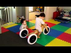 Boys first reaction to their new Wishbone Trike - YouTube