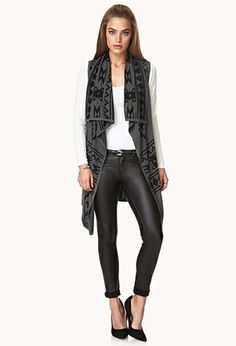 I am totally LOVING long and cozy cardigans this year, so this is perf!