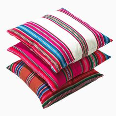 Contemporary Textile Pillows from La Paz. Travel and shop the world with Project Bly!